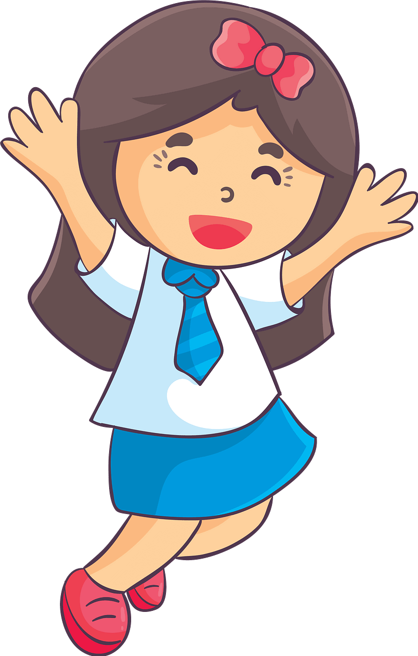 Girl Laughing clipart transparent 3
