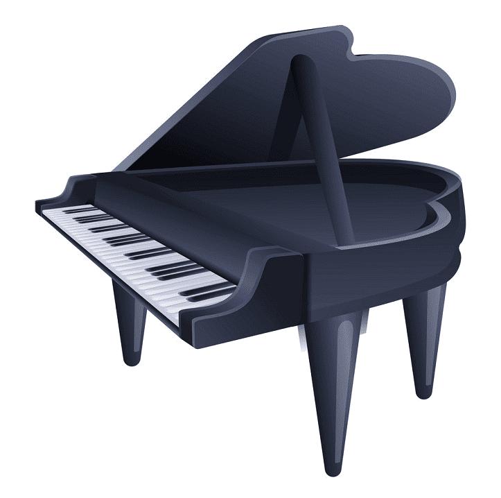 Grand Piano clipart 1