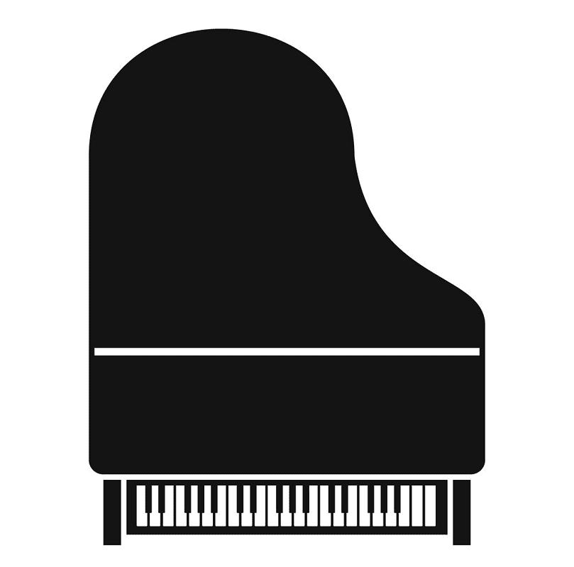Grand Piano clipart 3
