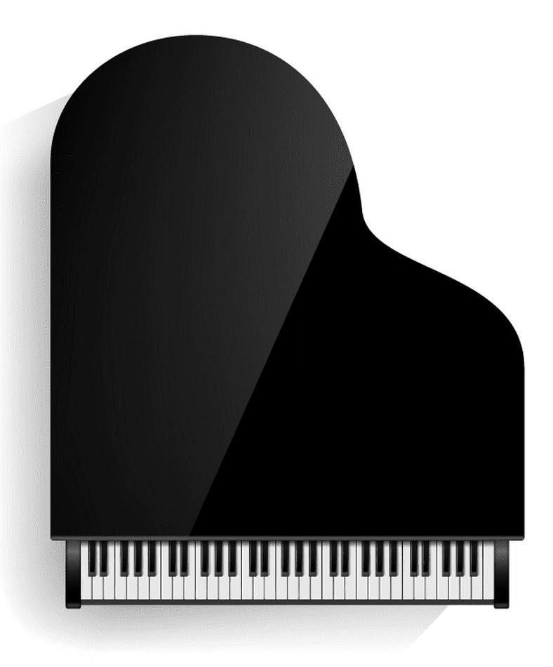Grand Piano clipart 4