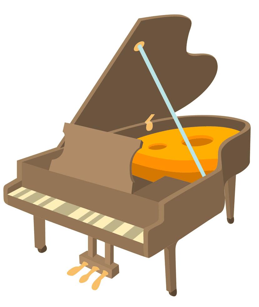 Grand Piano clipart 5