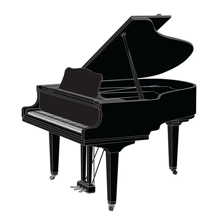Grand Piano clipart download