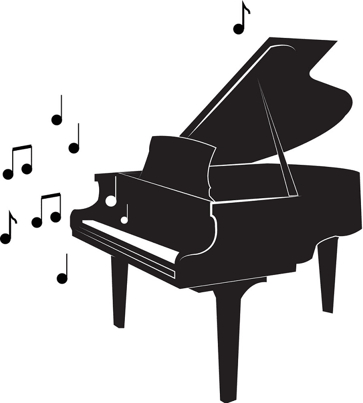 Grand Piano clipart free download