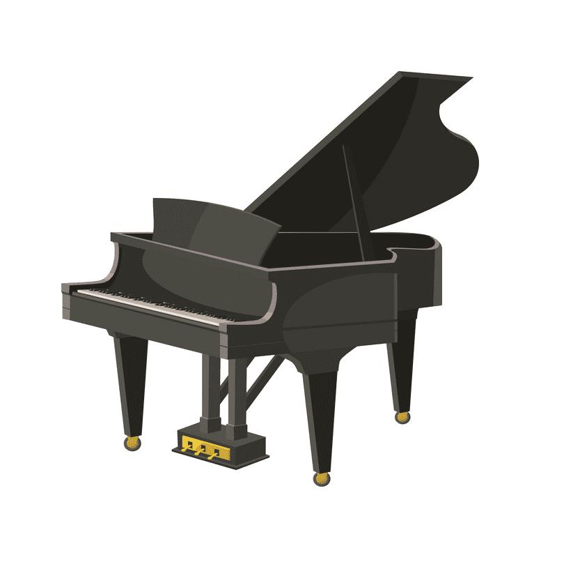 Grand Piano clipart free image