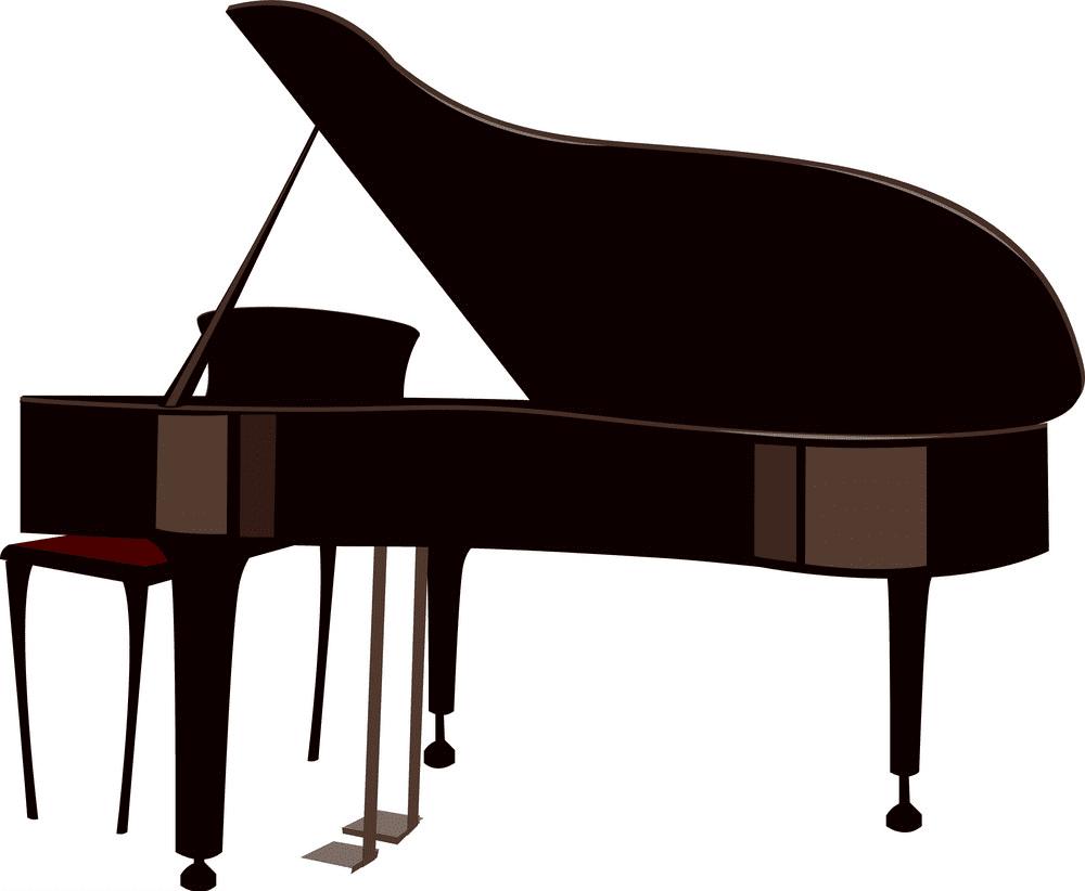 Grand Piano clipart free