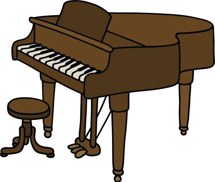 Grand Piano clipart image