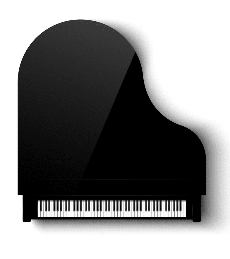 Grand Piano clipart png images