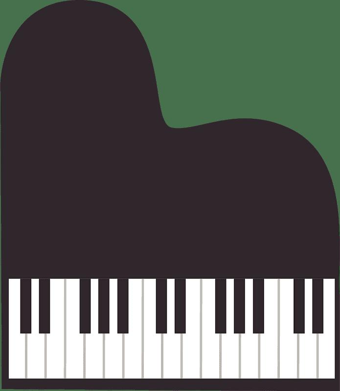 Grand Piano clipart transparent 2