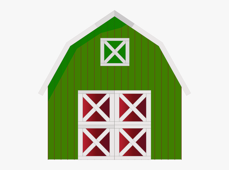 Green Barn clipart