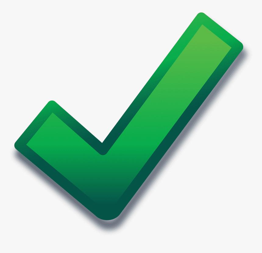 Green Check Mark clipart 10