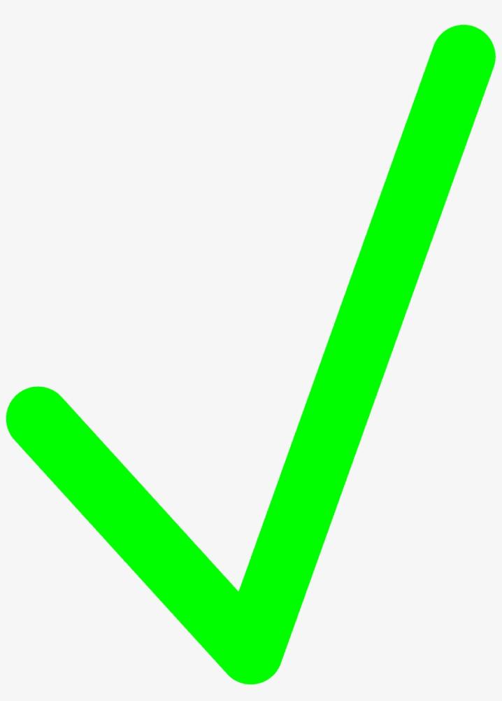 Green Check Mark clipart 7