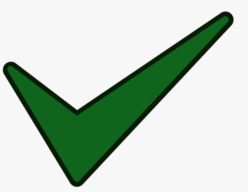 Green Check Mark clipart 9