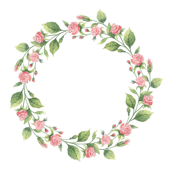 Greenery Wreath clipart png free