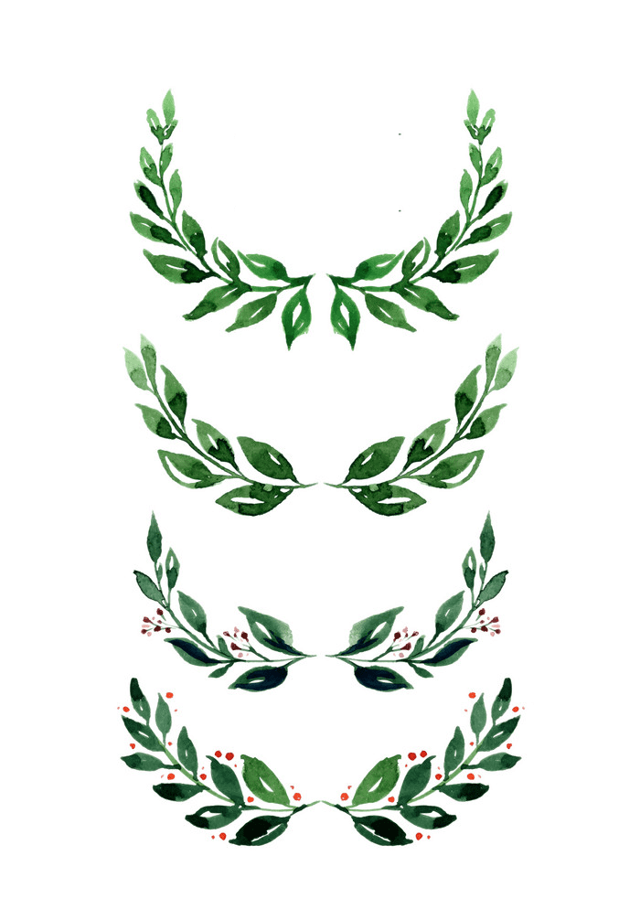 Greenery clipart 10