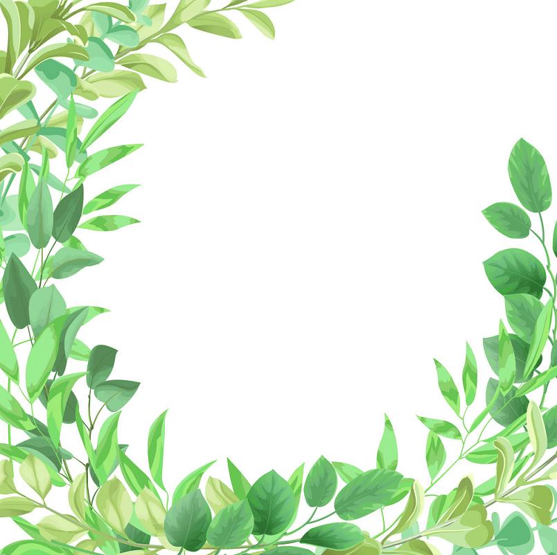 Greenery clipart 4