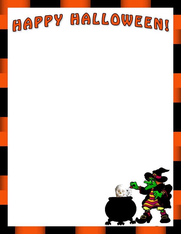 Halloween Border clipart 11