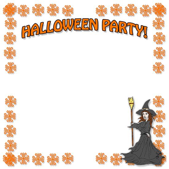 Halloween Border clipart 5