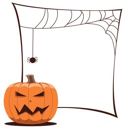Halloween Border clipart 7