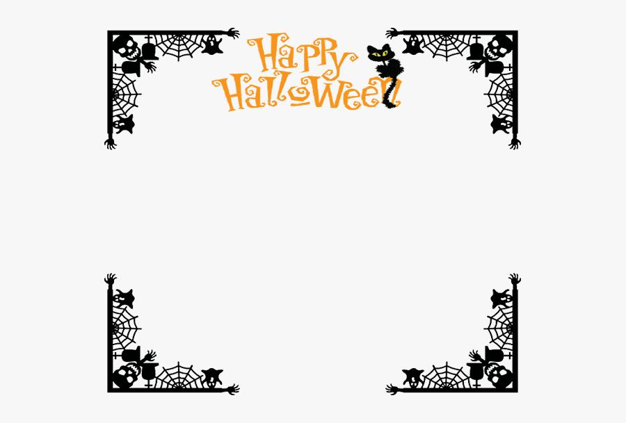 Halloween Border clipart free 10