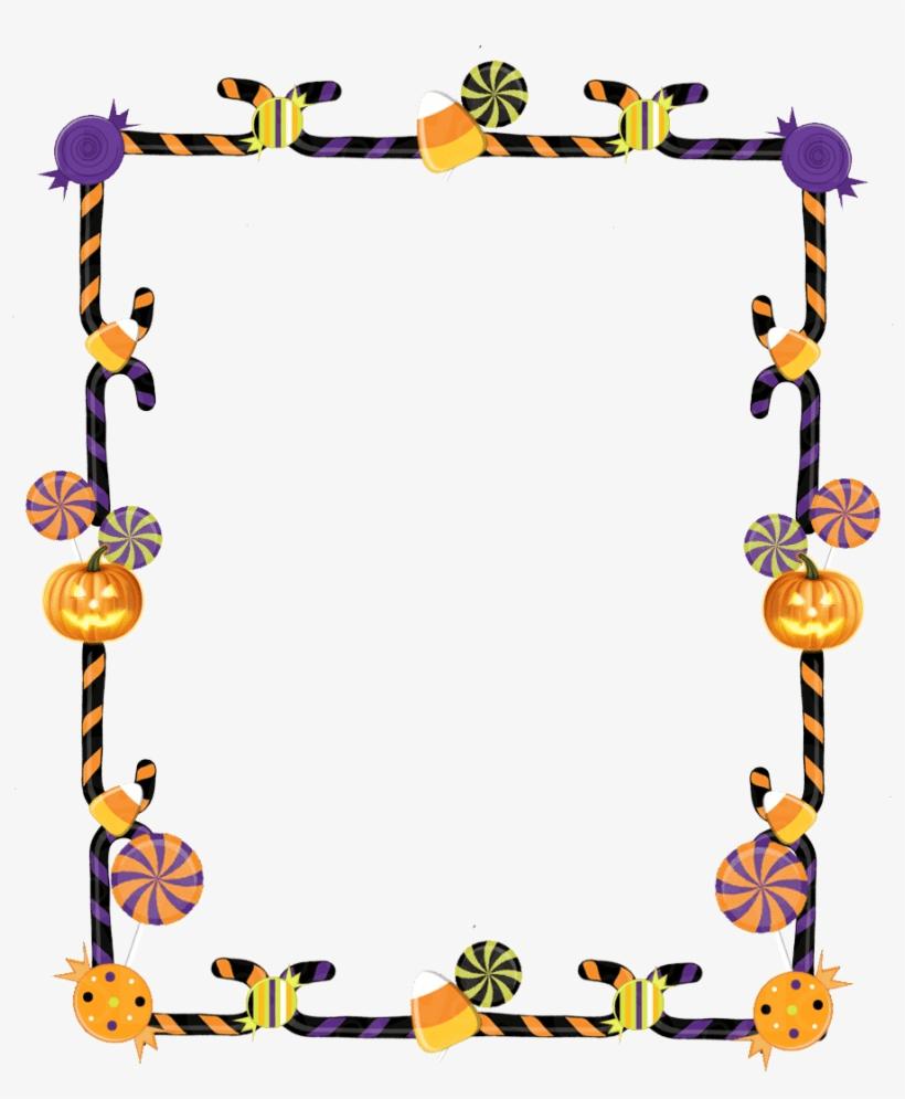 Halloween Border clipart free 7