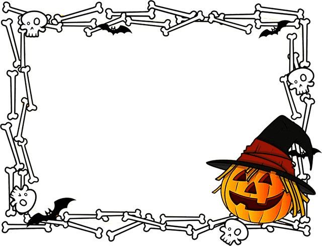 Halloween Border clipart free 8