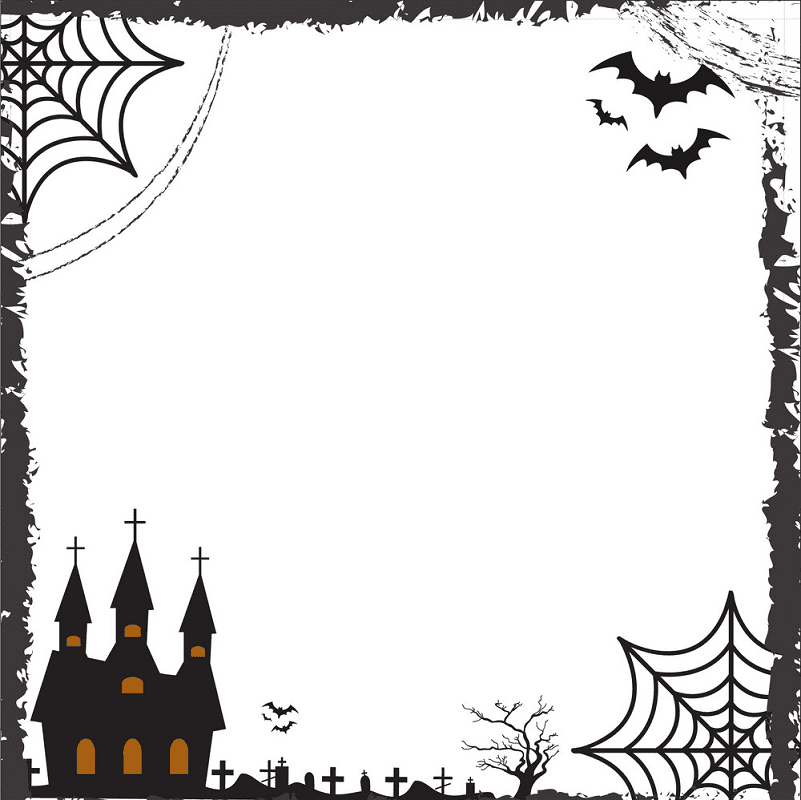 Halloween Border clipart images