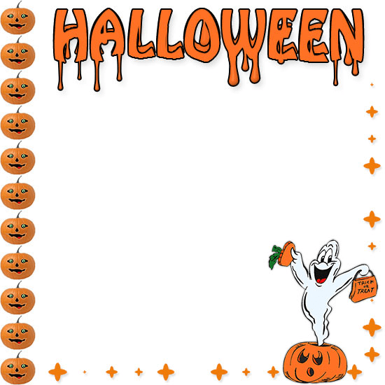 Halloween Border clipart png 1