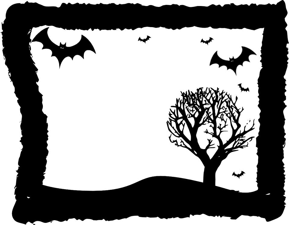 Halloween Border clipart png 3