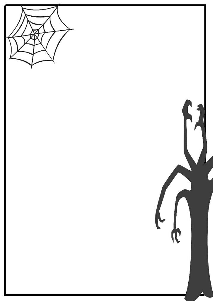 Halloween Border clipart png 7