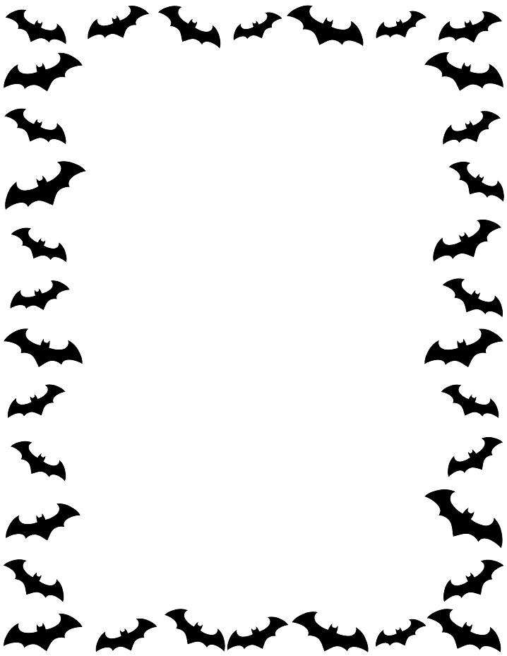 Halloween Border clipart png 8