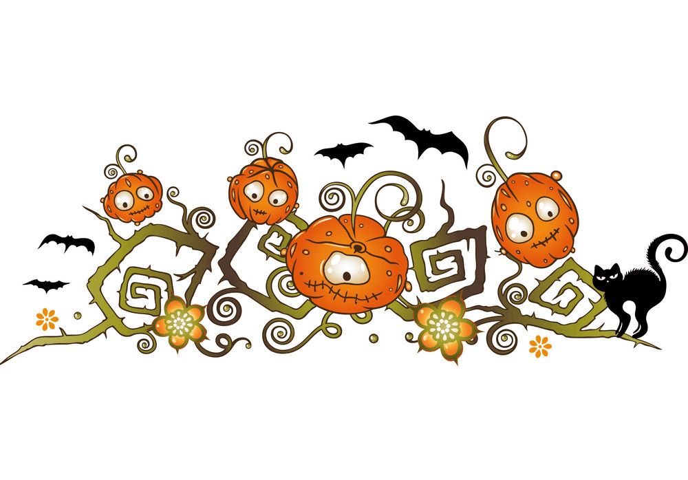 Halloween Border clipart png