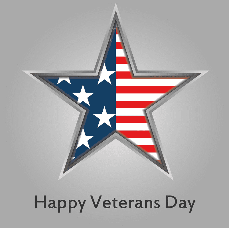 Happy Veterans Day clipart 1
