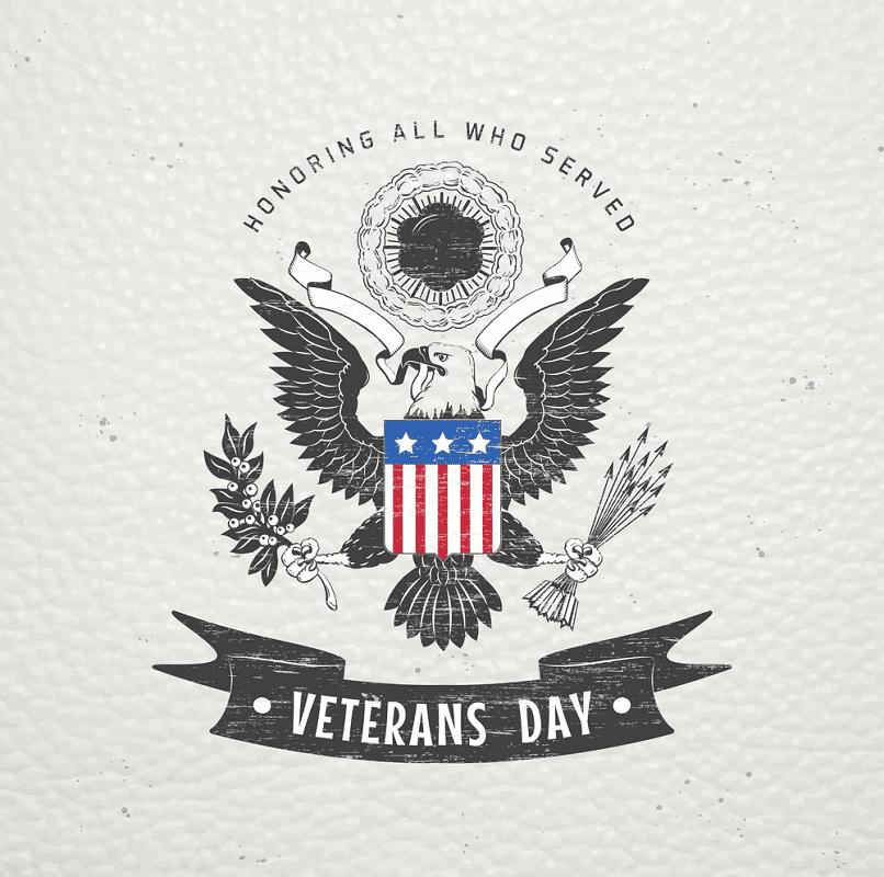 Happy Veterans Day clipart 2