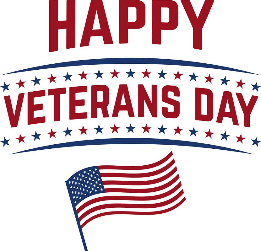 Happy Veterans Day clipart 3