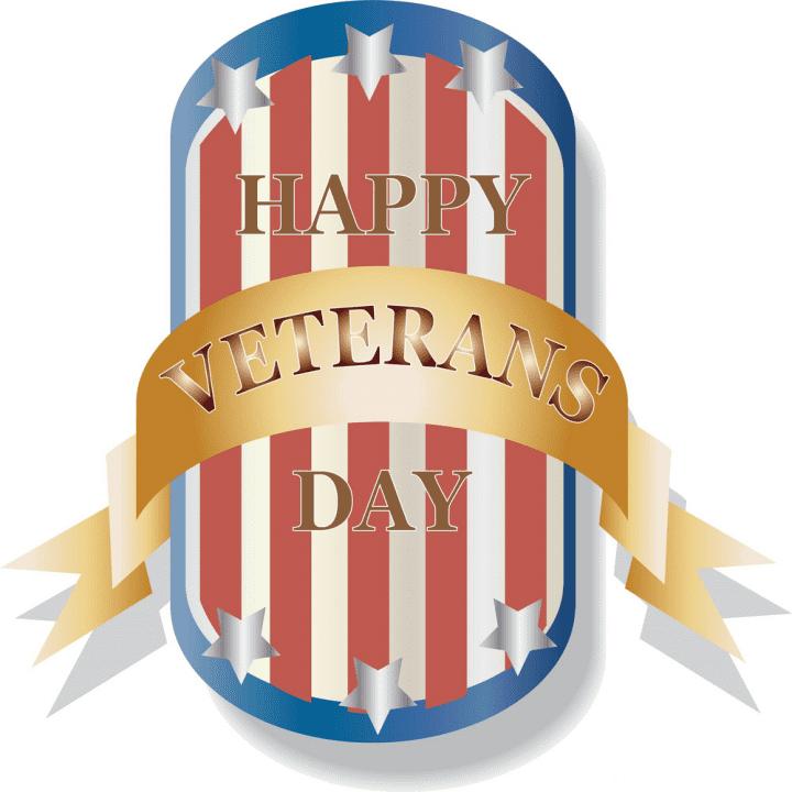 Happy Veterans Day clipart 8