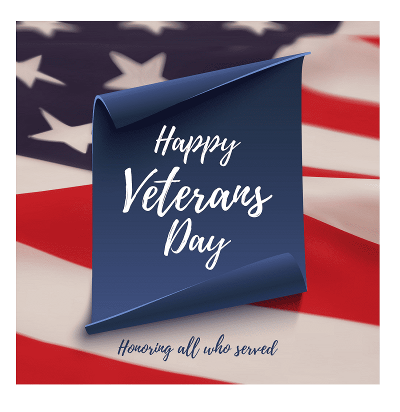 Happy Veterans Day clipart free images