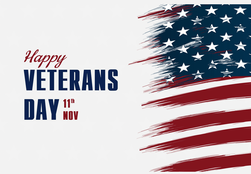 Happy Veterans Day clipart image