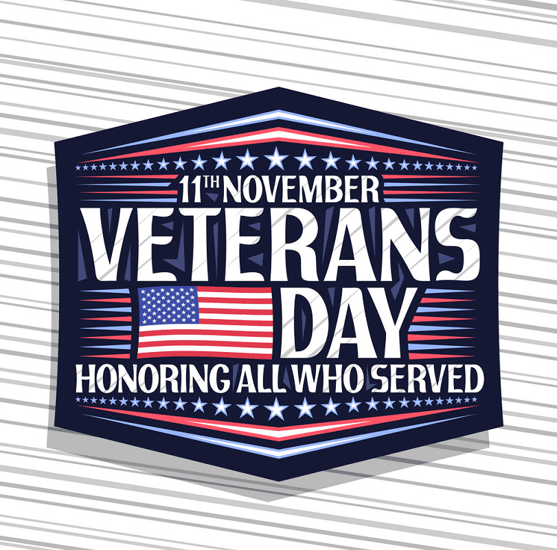 Happy Veterans Day clipart images