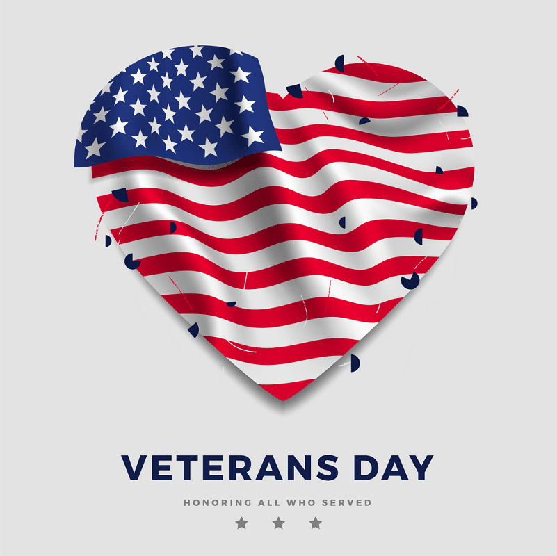 Happy Veterans Day clipart png free