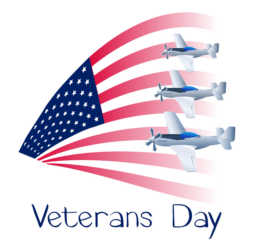 Happy Veterans Day clipart png image