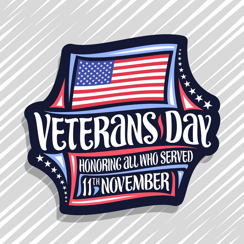 Happy Veterans Day clipart png