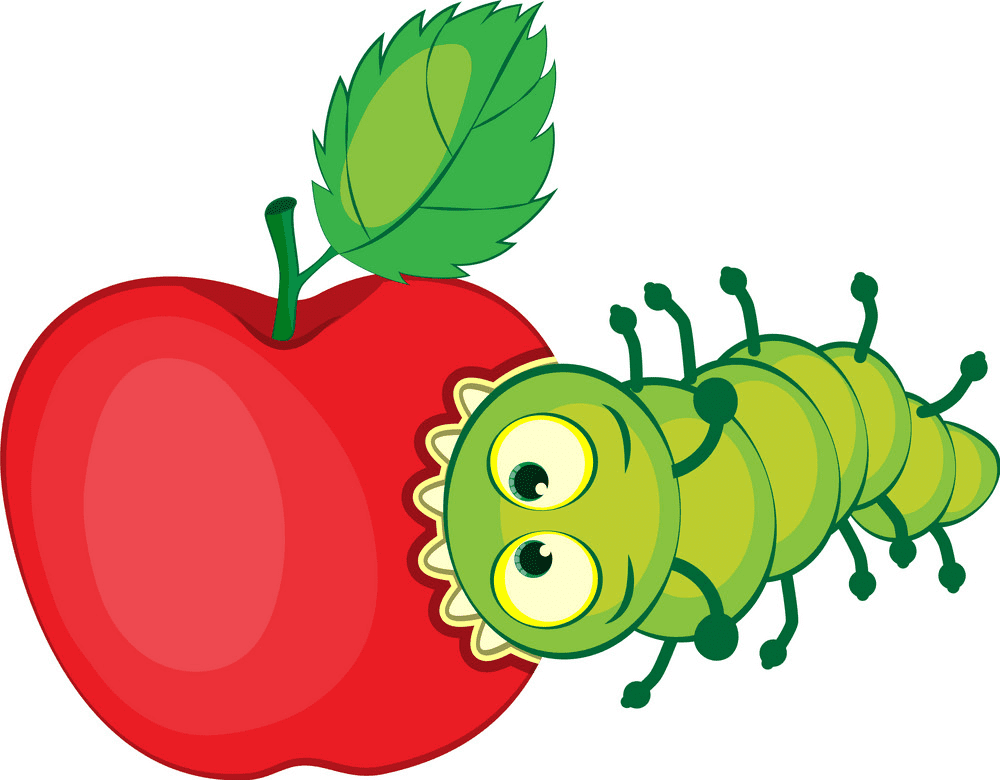 Hungry Caterpillar clipart free