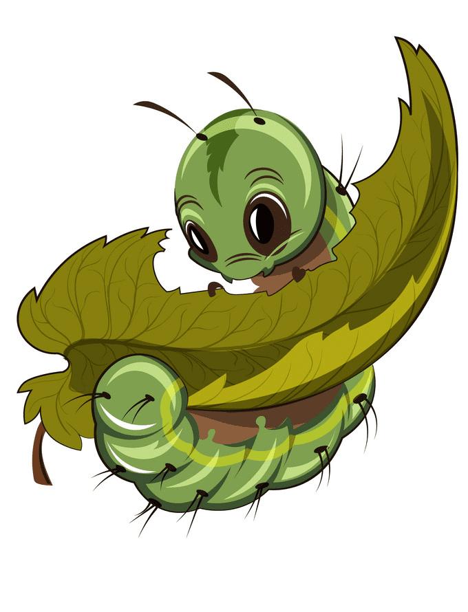 Hungry Caterpillar clipart
