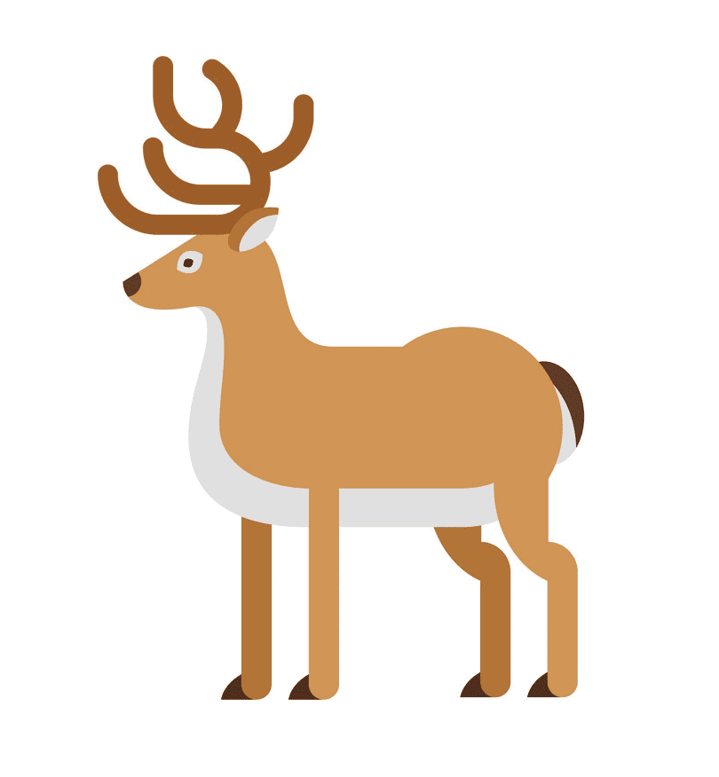 Icon Deer clipart