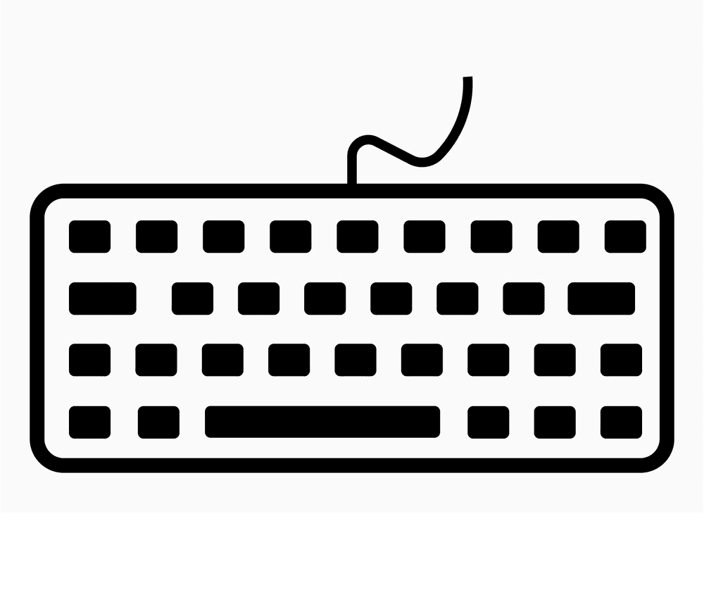 Icon Keyboard clipart