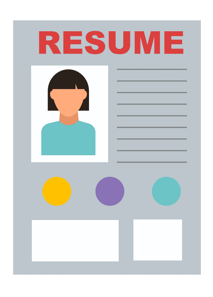 Icon Resume clipart png