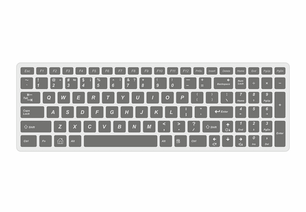 Keyboard clipart free images