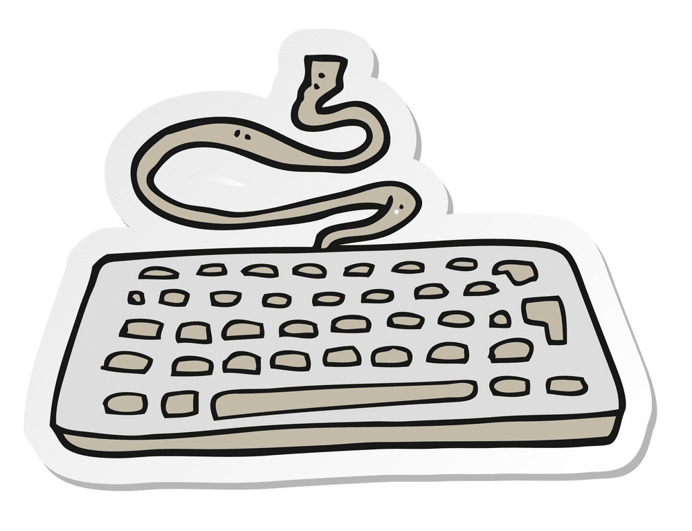 Keyboard clipart png free
