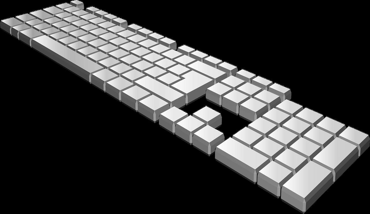 Keyboard clipart transparent 11