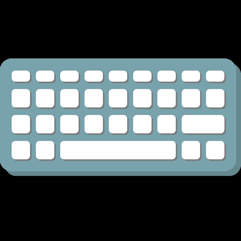 Keyboard clipart transparent 5